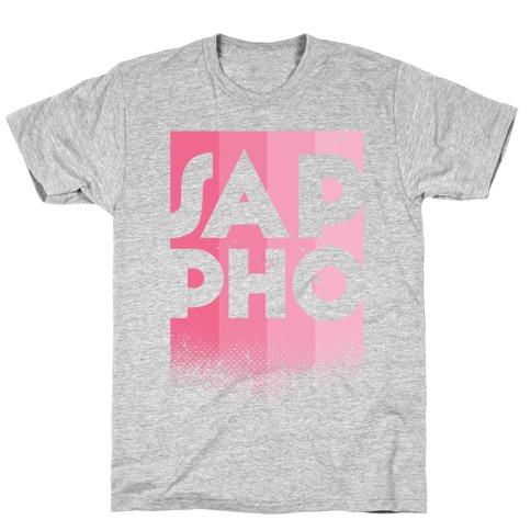 Vintage Sappho Pink T-Shirt