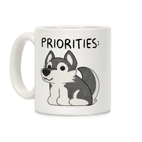 Husky Priorities Coffee Mug
