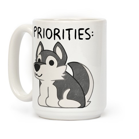 Husky Priorities Coffee Mug