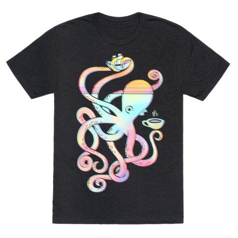 Tea Shanty Kraken T-Shirt