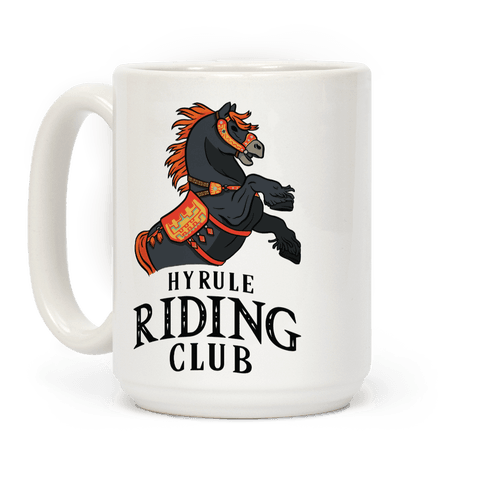Hyrule Riding Club Coffee Mug