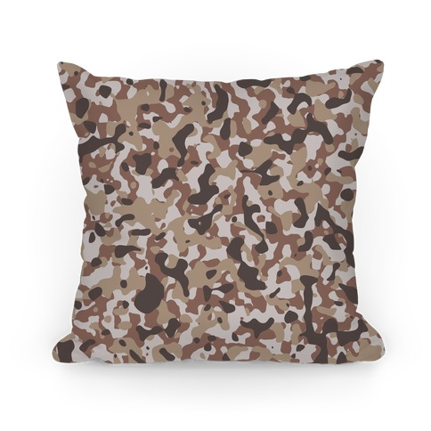 Camo Pattern Pillow