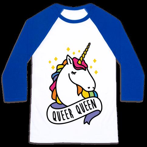 Queer Queen Baseball Tee