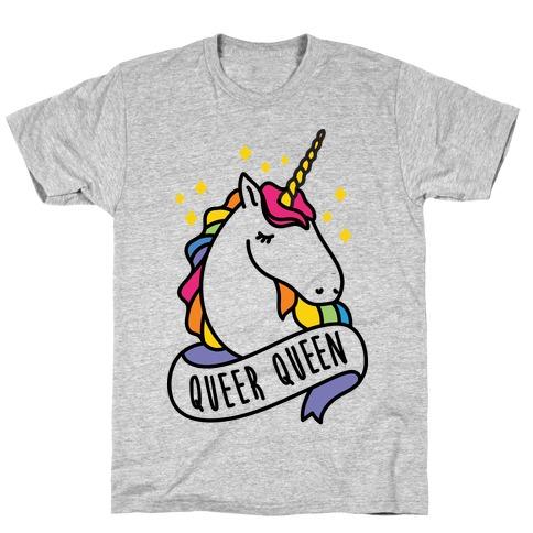 Queer Queen Mens/Unisex T-Shirt