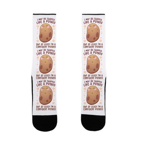 I'm A Confident Potato Sock