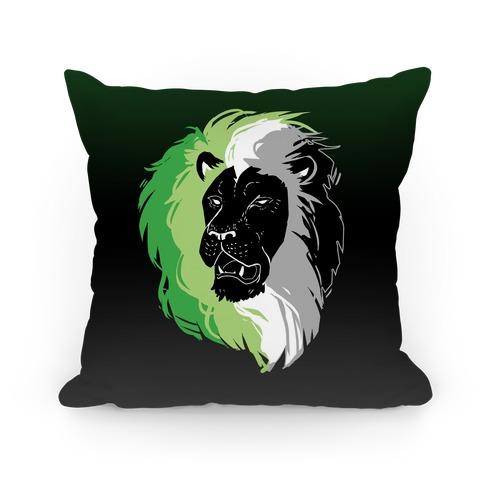 Aromantic Lion Pride Pillow