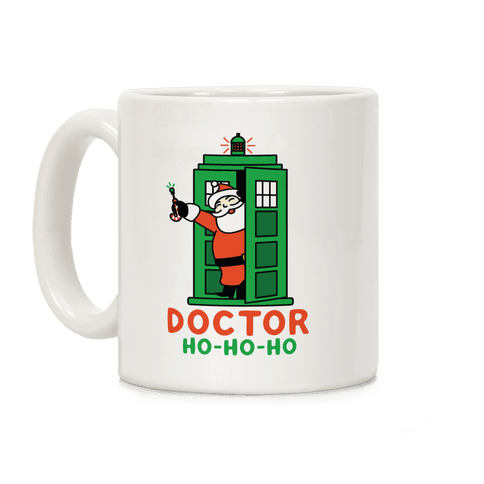 Doctor Ho-Ho-Ho Coffee Mug