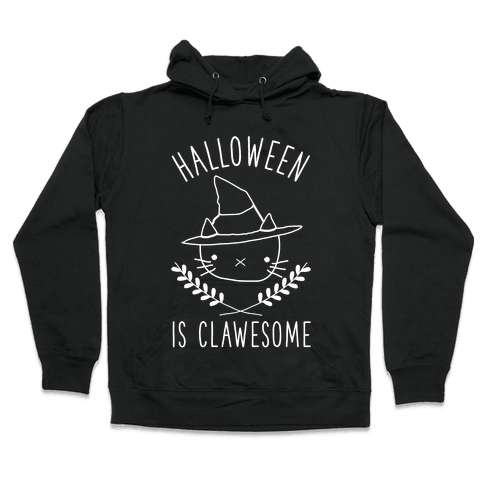 Halloween is Clawesome Hooded Sweatshirt