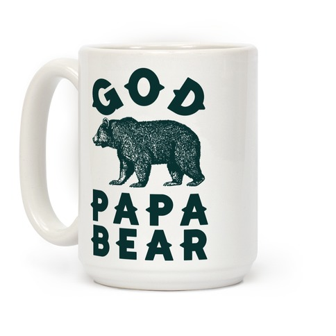 God Papa Bear Coffee Mug
