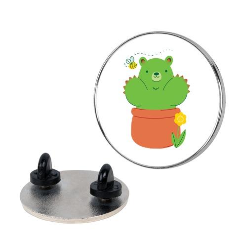 Bear Paw Cactus Pin