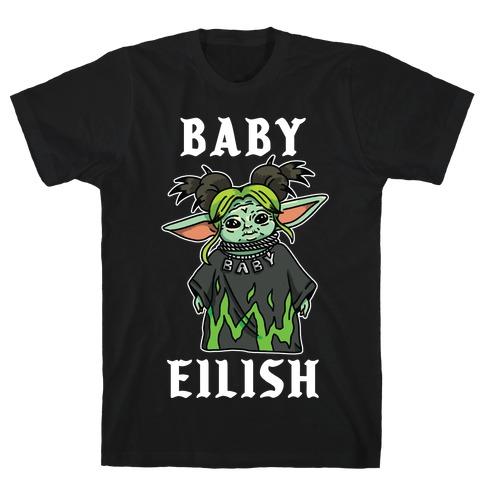 Baby Eilish Yoda Parody T-Shirt