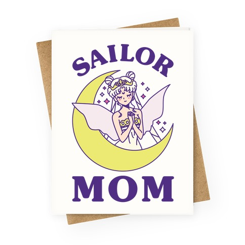 Sailor Mom Greeting Card