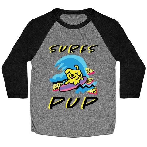 Surfs Pup Baseball Tee