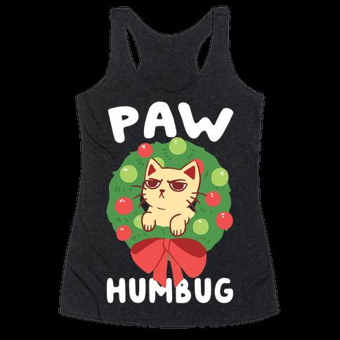 Paw Humbug  Racerback Tank Top