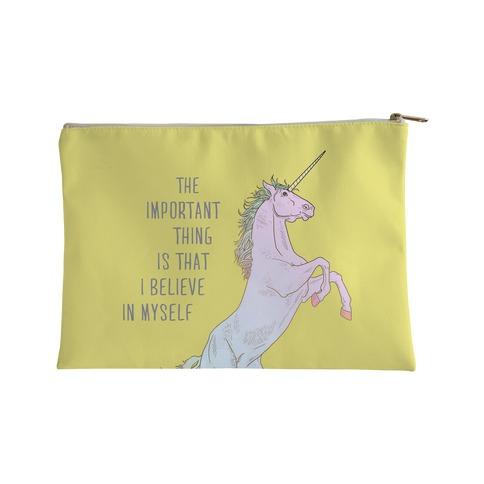 I Believe in Myself Accessory Bag