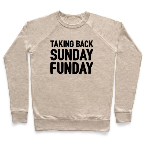 Taking Back Sunday Funday Parody Pullover