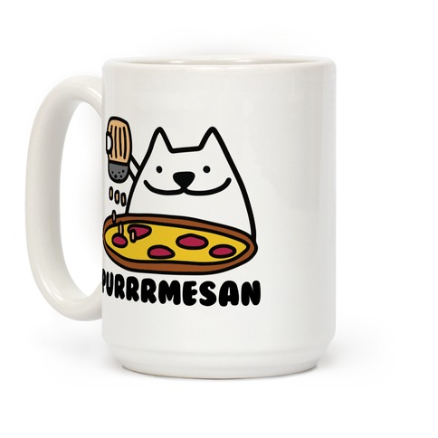 Purrrmesan Coffee Mug