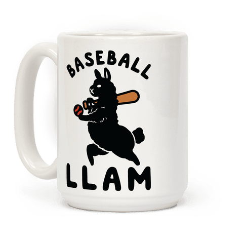 Baseball Llam Coffee Mug