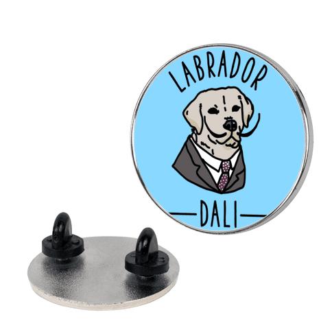 Labrador Dali  pin