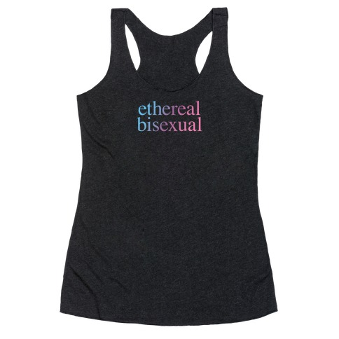 Ethereal Bisexual Racerback Tank Top