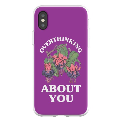 Overthinking About You Phone Flexi-Case