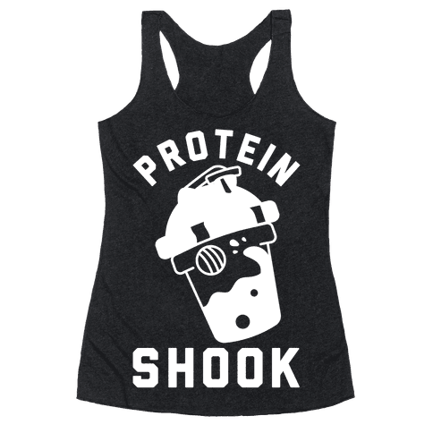 Protein Shook Racerback Tank Top
