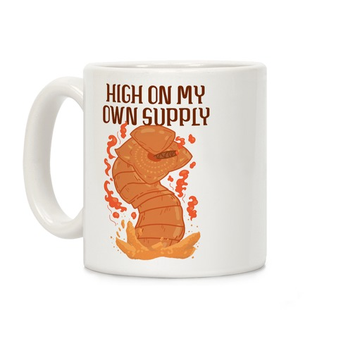 High On My Own Supply Sandworm Coffee Mug
