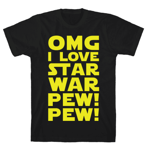 OMG Star War Mens T-Shirt
