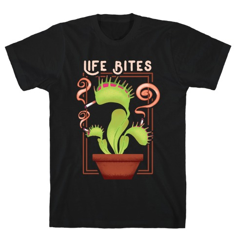 Life Bites Venus Flytrap T-Shirt