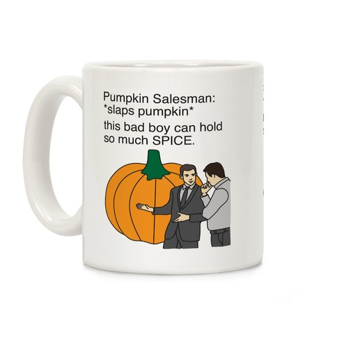 Pumpkin Salesman Coffee Mug