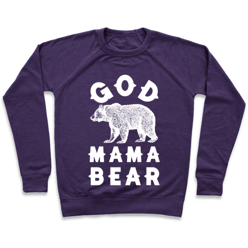 God Mama Bear Pullover