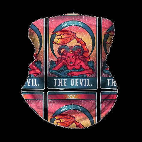 The Devil Siren Tarot Neck Gaiter