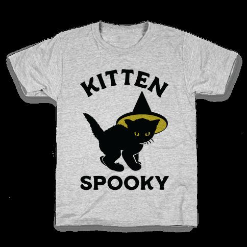 Kitten Spooky Kids T-Shirt