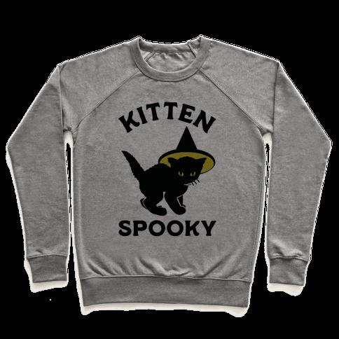 Kitten Spooky Pullover