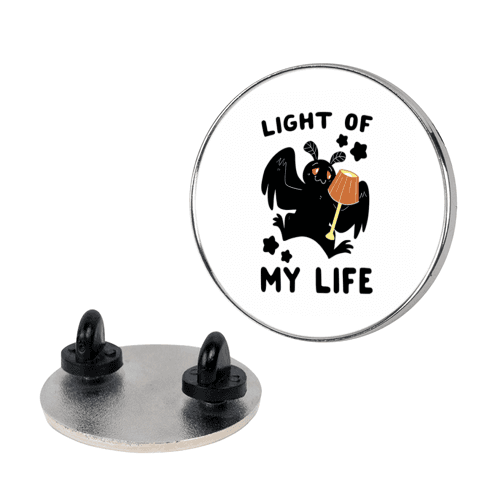 Light of my Life - Mothman and Lamp pin