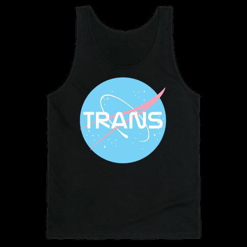 Trans Nasa Tank Top