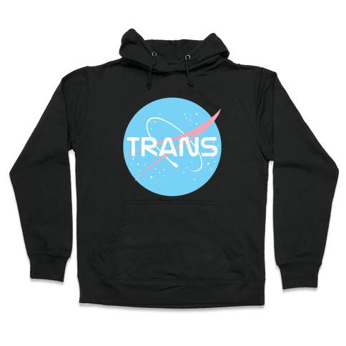 Trans Nasa Hooded Sweatshirt