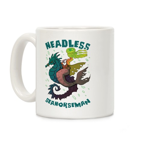 Headless Seahorseman Coffee Mug