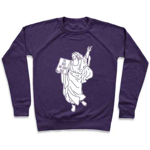 Commandments All Dogs are Good Dogs Pullover