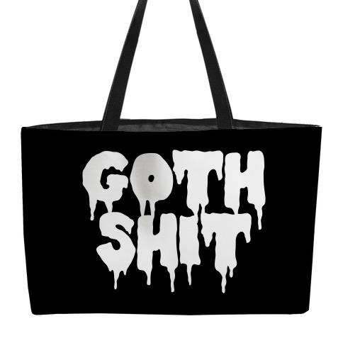 Goth Shit Weekender Tote