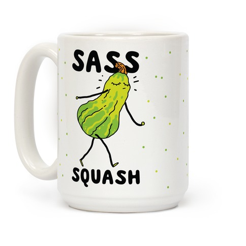 Sass Squash Coffee Mug