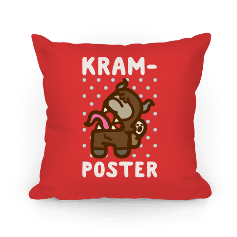 Kram-Poster Parody Pillow