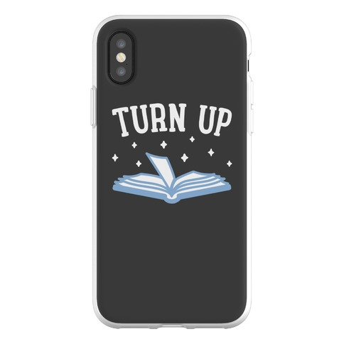 Turn Up Book Phone Flexi-Case