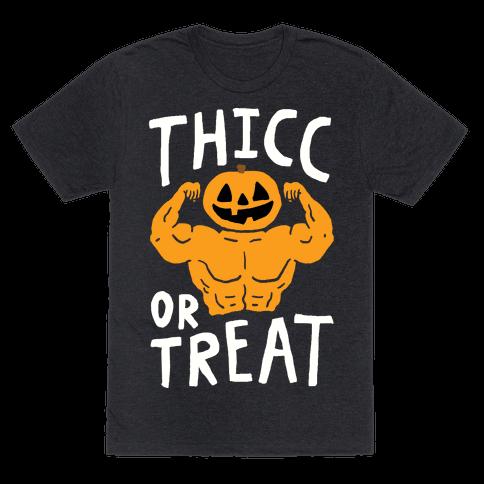 Thicc Or Treat Halloween Tee