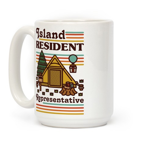 Island Resident Representative Coffee Mug