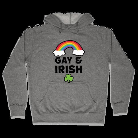 Gay & Irish Hooded Sweatshirt