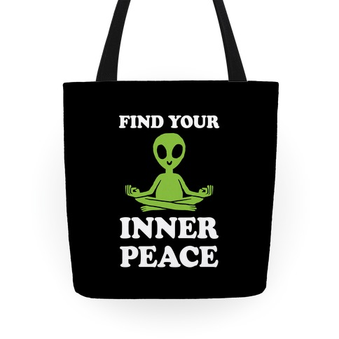Find Your Inner Peace Tote