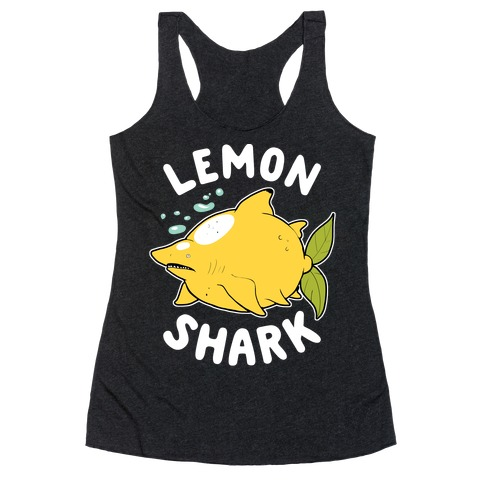 Lemon Shark Racerback Tank Top