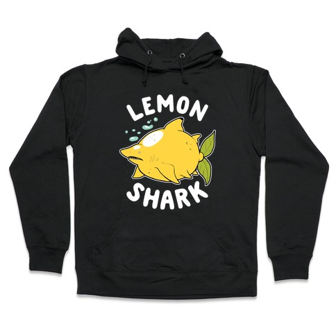 Lemon Shark Hooded Sweatshirt