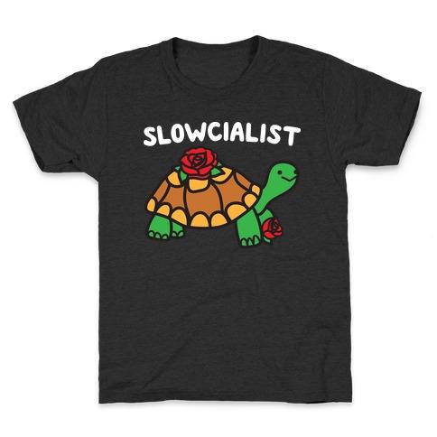 Slowcialist Turtle Kids T-Shirt